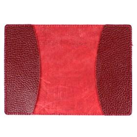 Обложка для паспорта FNX-PVS-001 натуральная кожа бордо флотер (383)  183352