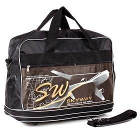 Сумка Sarabella-SG 013 дорож,    трансф низ,    ножки,    1отд,    плечевой ремень,    1внеш карм,    черный/хаки