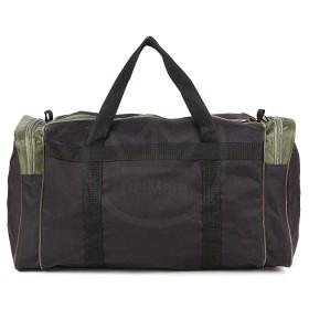 Сумка Sarabella-SG 003 дорож,  жесткое дно,  ножки,  1отд,  3внеш карм,  плечевой ремень,  черный/зеленый 184194