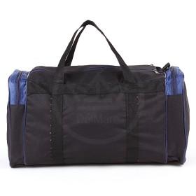 Сумка Sarabella-SG 003 дорож,  жесткое дно,  ножки,  1отд,  3внеш карм,  плечевой ремень,  черный/синий 184195
