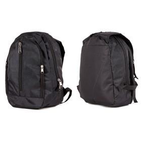 Рюкзак муж Дизайн-Соло,    жатка,    уплот спинка,    2отд. 1внеш карм,    черный