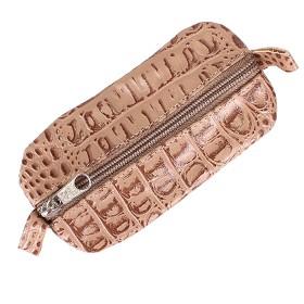 Футляр для ключей-FNX-КЛВ-104 натуральная кожа бежевый кайман (279)  185494