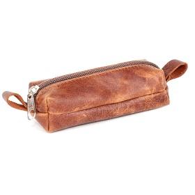 Футляр для ключей-FNX-КЛМ-101 (малая)  натуральная кожа коричневый пулл-ап (562)  185508