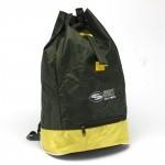 Рюкзак Sarabella-Т-02,    прост спинка,    1отд,    1внеш карм,    полиэст,    зеленый/желтый