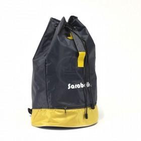 Рюкзак Sarabella-Т-02,    прост спинка,    1отд,    1внеш карм,    полиэст,    серый/желтый