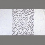 Палантин 80*180см полиэстер 100%,    плетение хлопок,    рис 321_43,    сиреневый