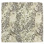 Платок шейный 50*50см полиэстер 100%,    плетение  атлас,    рис 418_31,    зеленый,       (леопард)
