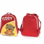 Рюкзак детский Silver Top-1040 Кроха прост спинка/Teddy,    красный/желтый,    медведь