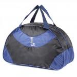 Сумка TL-Ф-06    (П-420)    дорожная,   1отд,    плечевой ремень,    черный/синий