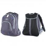 Рюкзак Арлион-602 эргономическая спинка,    2отд,    1 внеш карм,    серый/голубой