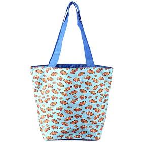 Сумка молодежная текстиль Юпитер-2311.27,    1 отд,    синий/голубой,    рыбки