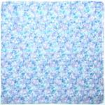 Палантин 80*180см полиэстер 100%,    плетение хлопок,    рис 230-179,    голубой