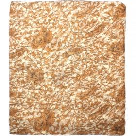 Палантин 80*180см полиэстер 100%,    плетение хлопок,    рис 230-180,    бежевый