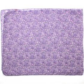 Палантин 80*180см полиэстер 100%,    плетение хлопок,    рис огурцы,    фиолетовый