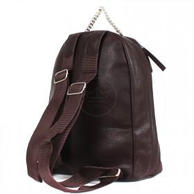 """Сумка женская искусственная кожа M.Bag-""""  Эшли""""      (рюкзак)    ;    1отд,    1внут карм,    шоколад"""