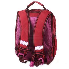 Рюкзак Арлион-603ева эргоном спинка,    2отд,    4 внеш карм,    бордовый,    кошка