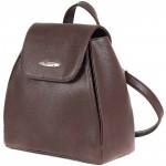 """Сумка женская искуственная кожа M.Bag-""""  Юта""""      (рюкзак)    ;    1отд,    1внут карм,    шоколад SALE"""