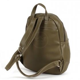 Сумка женская искусственная кожа DJ-5637-4-KHAKI,       (рюкзак) ,    1отд,    1внут+1внеш карм,    хаки