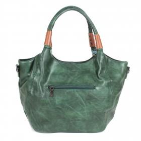 Сумка женская искуственная кожа BT-BR 1708-Т-green,  1отд+карм/пер,  плечевой ремень,  зеленый 199655