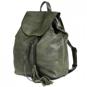 Сумка женская искусственная кожа BT-L 4653  (рюкзак),  1отд,  2внут карм,  зеленый 199664