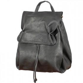 Сумка женская искусственная кожа BT-L 4657-black  (рюкзак),  1отд,  2внут карм,  черный 199666
