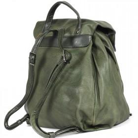 Сумка женская искусственная кожа BT-L 4657-khaki  (рюкзак),  1отд,  2внут карм,  хаки 199667