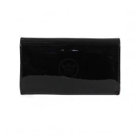 Сумка женская искусственная кожа 16138,  1 отд,  ремень-цепочка,  черный 200100