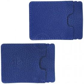 Визитница-футляр Premier-V-49 натуральная кожа синий флотер (329)  200288