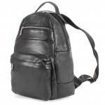 Сумка мужская искуственная кожа DJ-CM 3634-BLACK,       (рюкзак) ,    1отд,    2внут+2внеш карм,    черный SALE