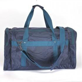 Сумка дорожная Арлион-7А,    б/подклада,    жесткое дно,    3внеш карм,    плеч ремень,    синий