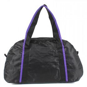 Сумка Sarabella-СК 023 дорож,  1отд,  1внеш карм,  черный/фиолет 201218