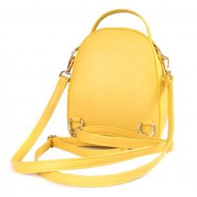 Сумка женская искусственная кожа ADEL-65/ЗФ   (рюкзак) ,    1отд,    желтый
