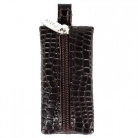 Футляр для ключей PRT-К-03л коричневый крокодил-11 203219