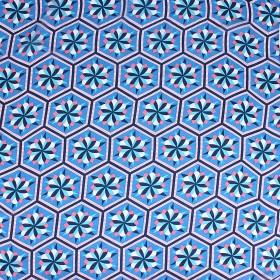 Платок шейный, # КС 392 Полиэстер 65%,  рами 35%,  70*70см,  шифон,  (цвет 25-2)  203368