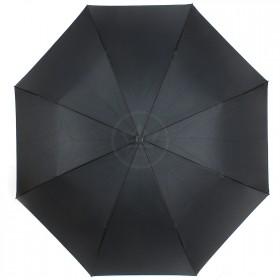 Зонт женский TR-0000. R=60см,    наоборот;    трость;    8спиц-сталь+fiber;    СМАРТ,    полиэстер,       (облака)    черный