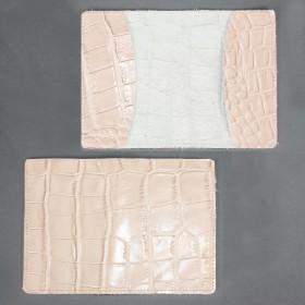 Обложка для паспорта FNX-PVS-001 натуральная кожа бежевый скат (276)  203740