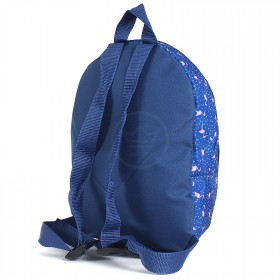 Рюкзак детский TL-РД-02,  прост спинка,  2отд,  1внеш карм,  синий  (фламинго)  204023