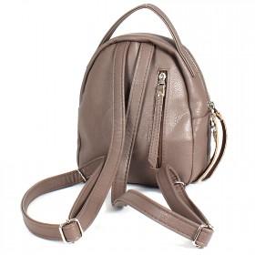 Сумка женская искусственная кожа GR-1615    (рюкзак-мини) ,    2отд,    2внут+2внеш карм,    какао    (ласточки)