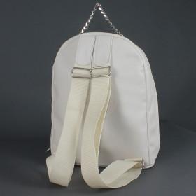 """Сумка женская искусственная кожа M.Bag-""""  Эшли""""      (рюкзак)    ;    1отд,    1внут карм,    светло-бежевый"""