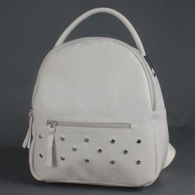 """Сумка женская искусственная кожа M.Bag-""""  Нева""""      (рюкзак)    ;    1отд,    1внут+1внеш карм,    светло-бежевый"""