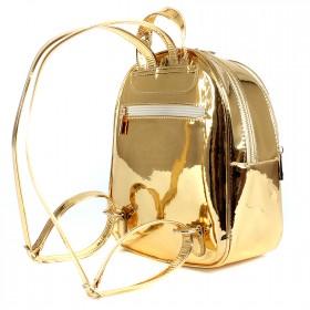 Сумка женская искусственная кожа ADEL-91/ЗФ/ММ    (рюкзак) ,    2отдела,    золото