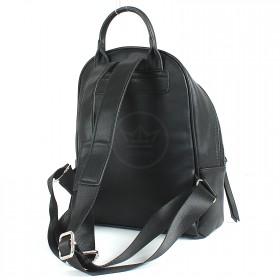 Сумка женская искусственная кожа DJ-CM 3656A-BLACK   (рюкзак) ,    1отд,   1внеш+2внут/карм,    черный