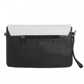 Сумка женская искусственная кожа DJ-CM 3750-BLACK,  1отд,  плечевой ремень,  ручка петля,  черный 204499