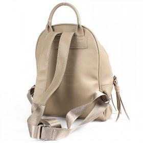 Сумка женская искусственная кожа DJ-CM 3656A-TAUPE   (рюкзак) ,    1отд,   1внеш+2внут/карм,    кофе