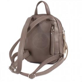 Сумка женская искусственная кожа GR-1617    (рюкзак-мини) ,    2отд,    2внут+3внеш карм,    какао