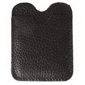 Обложка пропуск/карточка/проездной PRT-ФК-15 натуральная кожа коричневый флотер 205545