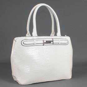 Сумка женская искуственная кожа ZEL-7461,    1отд+карм/пер,    белый SALE