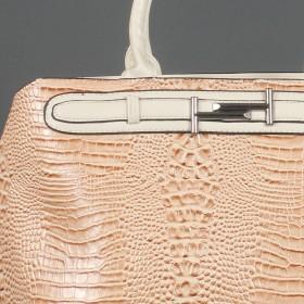 Сумка женская искусственная кожа ZEL-7461,  1отд+карм/пер,  бежевый SALE 206772