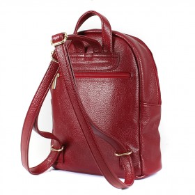 Сумка женская искусственная кожа ADEL-82/ЗФ/   (рюкзак) ,    1отд,    бордо