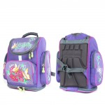 Рюкзак Арлион-395  детский,    эргоном спинка,   1отд,    4внешн карм,    фиолет    (Butterfly)